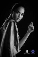 Aya Bernadette (Darrell Neo) Tags: darrellneo fashion lookbook lasalle college jakarta stduio portraiture portrait bw nikon d800e