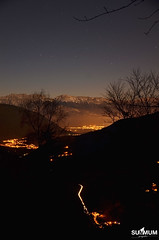 Valle de lumire. (Summum Graphic) Tags: winter light vacation sky france mountains alps night alpes landscape photography nikon lumire paysage vercors nuit montagnes taillefer isre vizille