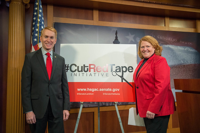 Thumbnail for 5 Ways to Participate in U.S. Senators Lankford & Heitkamp's #CutRedTape Initiative