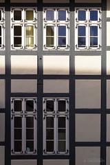 Tic ... Tac ... (Hamburg PORTography) Tags: window canon germany square deutschland eos pattern angle fenster historic winkel historical harz goslar fachwerk 6d historisch 2015 canoneos6d hoonose68 againstautotagging sgrossien grossien