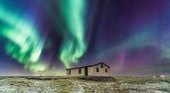 Rjmabi in Northern Lights (lydurg) Tags: lighthouse dark nightphoto viti becon northenlight norurljs rjmabi knarrarsviti nturmynd auoraborealis baugstaas