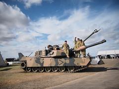 Abrams M1 Tank (Plane Crazy Down Under) Tags: australia victoria avalon