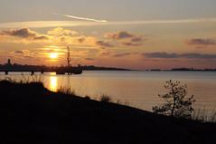 Helsinki (smerikal) Tags: sunset sea scenery meri maisema auringonlasku merimaisema 2014syksy