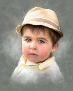 Boy With the Yellow Hat