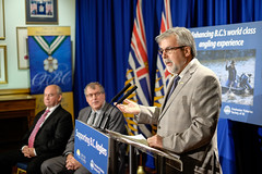 100% of angling licence revenue to benefit anglers (BC Gov Photos) Tags: fish economy licence revenue fisheries stevethomson freshwaterfisheriessocietyofbc freshwaterfisheries