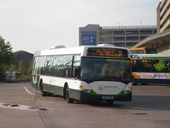 44 - YN54AOD - Newport bus station - 8 August 2013 (Simon's Bus Photostream) Tags: newport 44 newporttransport newportbus yn54aod