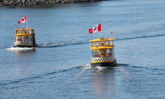 Water taxis coming in. (KaseyEriksen) Tags: ocean sea water boat scenery bc taxi victoria h2o watertaxi
