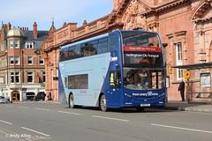 Nottingham 642 YN15EJC (Andy4014) Tags: nottingham bus south 400 loughborough scania enviro notts nottinghamcitytransport yn15ejc