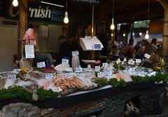 Cornish And Fresh In London (dhcomet) Tags: food london londonbridge gourmet boroughmarket octopus seafood produce cod clams southwark langoustine seabream turbot hake kingprawn doversole