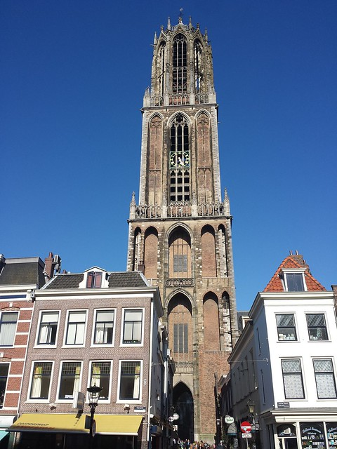 The ageless tall dom tower