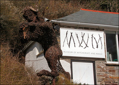 The Devil Has All the Best Museums (Canis Major) Tags: model cornwall devil witchcraft boscastle geraldgardner cecilwilliamson museumofwitchcraftandmagic