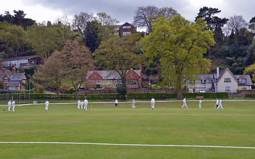 Alderley Edge England Cricket at Alderley Edge