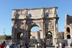 Arch of Constantine (- Ozymandias -) Tags: italy rome roma history archaeology italia arch it triumphalarch archaeological romanempire lazio