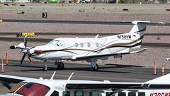 Pilatus PC-12/47 N756VM (ChrisK48) Tags: airplane aircraft pc12 dvt phoenixaz kdvt pilatuspc1247 phoenixdeervalleyairport n756vm