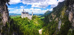 The castle of your dreams (a73xander90) Tags: castle nature germany bayern dream disney wanderlust dreams neuschwanstein wanderer deustschland