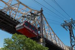 Over to Roosevelt Island (ho_hokus) Tags: nyc newyorkcity bridge newyork spring manhattan queensborobridge rooseveltisland 59thstreetbridge rooseveltislandtram 2016 fujix20 fujifilmx20