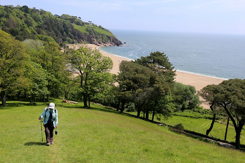 Above Blackpool Sands, Devon