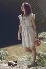 Fashion Shoot #5 ([DaCosta]) Tags: woman girl fashion model dress readhead
