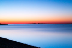 Pre-Dawn II (Bob90901) Tags: longexposure morning bridge sky newyork beach water sunrise canon dawn spring outdoor longisland filter shore lee nd april predawn babylon goldenhour 6d 2016 greatsouthbay lindenhurst vle neutraldensity robertmosescauseway gradnd graduatedneutraldensity nd10 venetianshores 09gradnd canonef2470mmf28liiusm leebigstopper rpg90901