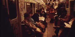 """Much of New York City's crime happened on the subway in the late '70s. The Lexington Avenue Express landed the nickname the """"Mugger's Express"""". [1200x600] #HistoryPorn #history #retro http://ift.tt/1OhYmkm (Histolines) Tags: new york history subway lexington retro crime 70s timeline late much express avenue landed happened citys the nickname vinatage historyporn 1200x600 histolines muggersexpress httpifttt1ohymkm"""