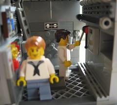 uboot6 (Franckfbe) Tags: lego submarine uboat minifig minifigs scenes mocs uboot wehrmacht sousmarin kriegsmarine scne miseenscne