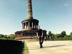 Me & Siegessule (Przemysaw K.) Tags: berlin siegessule
