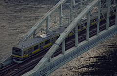 Tokyo 3964 (tokyoform) Tags: bridge chris urban public japan canon subway japanese tokyo asia metro transport trains jr east un transit tquio   japo mass  rapid japon giappone tokio 6d  jepang japn  jr jongkind tkyto   rooftopping chrisjongkind tokyoform