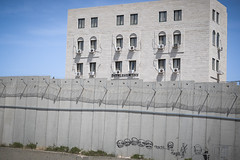 Bethlehem (Crispianb) Tags: wall graffiti jerusalem bethlehem