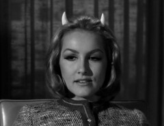 "Julie Newmar, ""Of Late I Think of Cliffordville"" 38 (Tom Simpson) Tags: woman sexy television vintage devil 1960s pinup devlin julienewmar succubus thetwilightzone vintagetelevision"