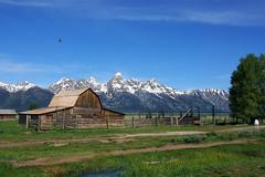 Classic Tetons Shot (snowpeak -- taking some time off) Tags: wyoming grandtetons mormonrow moultonbarn sonyrx10iii