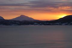 Where we were (e_m_b_r_y) Tags: winter sea sky sun mountain snow cold ice nature norway clouds canon frozen north artic troms