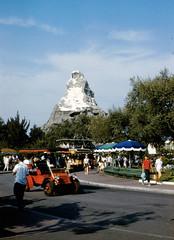 Matterhorn, 1960s (Tom Simpson) Tags: hub vintage disneyland disney matterhorn 1960s vintagedisney