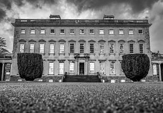 Castletown House (Ails N hgeartaigh) Tags: ireland blackandwhite bw history architecture zeiss europe noir sony historic za blanc a7 1700s kildare palladian 2016