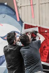 Festiwall Paris (Emilie Baudel) Tags: streetart paris art graffiti bowie tag graff davidbowie canaldelourq festiwall