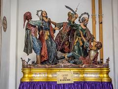 Floats, Trapani, Sicily (Ken Barley) Tags: italy sicily figures trapani chiesadelpurgatorio