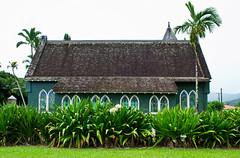 Kuhio Hwy. Hanalei, Hawaii (seanmugs) Tags: church architecture hawaii stainedglass kauai hanalei hanaleihawaii waolihuiiachurch
