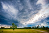 Evening Storm (hz536n/George Thomas) Tags: summer sky copyright storm weather canon michigan canon5d nik upnorth hdr prescott 2016 ef1740mmf4lusm cs5