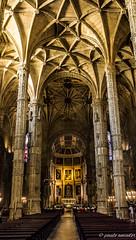 Mosteiro dos Jernimo (gorgar671) Tags: portugal kirche dos architektur lissabon gebude kloster bogen mosteiro sule gewlbe jernimo