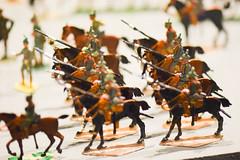 Polish lancers toy soldiers (quinet) Tags: 2015 museumofthepolisharmy muzeumwojskapolskiego poland spielzeug varsovie warsaw warschau warsowa jouets toys