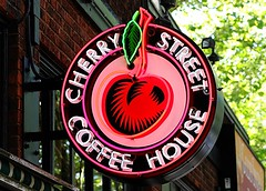 Cherry Street Coffee House (Laurence's Pictures) Tags: seattle chihuly tourism glass gardens see washington place dale market space things tourist needle pike monorail
