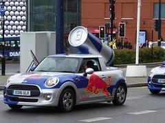 Red Bull at the Bull Ring (metrogogo) Tags: pullring bullring birmingham redbull mini minicar promotion redbullpromotions england uk canned selfridges cars bmwmini customcars wacky energydrink birminghamuk