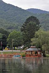 GAZEBO 2 (KayLov) Tags: vacation travel mountains ga georgia camping campground scenery bridge lake gazebo boats water pond