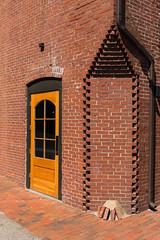 Cutting the Corner (loomstone) Tags: bricks restoration camden architecture corner door