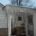 One of many Ice Burdens that the house has due to shitty or non-existent gutters 2
