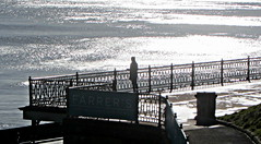 The Spa, South Bay & Jill.. (Mike-Lee) Tags: uk beach mike sunshine buildings coast seaside jill yorkshire scarborough northyorkshire march2015 httpenwikipediaorgwikiscarborough