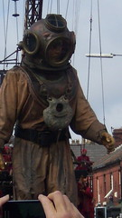 Above the Rooftops (jwtemeraire71) Tags: liverpool giant puppets giants seaodyssey royalduluxe
