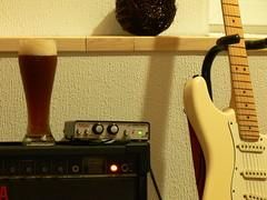 (shortscale) Tags: amp fender yamaha bier strat hefe stratocaster dunkel gitarre weizen tubepreamp bellari