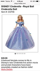 What an outrage. (Kayne Micallef) Tags: ball james doll dolls lily disney cinderella gown mattel 2015