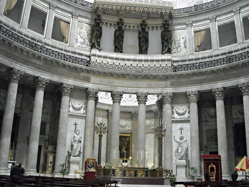 San Francesco di Paola Church (1817-1836) - Naples - Architect Pietro Bianchi (Lugano 1787-Naples 1849)