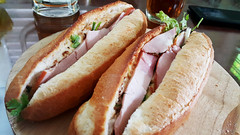 Self-fulfilling (Roving I) Tags: food vietnam pork danang banhmi breadrolls homedining